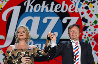 Larisa Dolina and Igor Butman